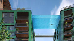 LOOK: London Sky Pool To Let Rich Look Down On City As They
