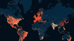 India Stands Out From The Rest Of The World In This Map Of Ashley Madison