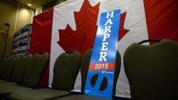Harper Has Campaign Trail To