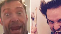 Smokin! Watch Hugh Jackman's Perfect Impersonation Of The Mask (Before Carrey Returns