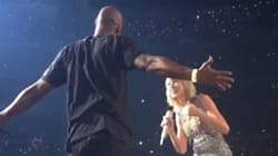 La surprise de Kobe Bryant à Taylor Swift en plein