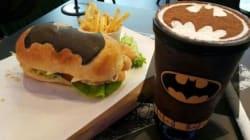 Un café Batman à Kuala