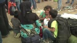 El vídeo de los refugiados en Macedonia que conmociona en la