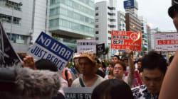 安保法案、SEALDsなど全国64カ所で一斉抗議デモ【動画・画像】