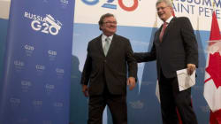 Harper Campaigns Without Flaherty By His Side, For The First
