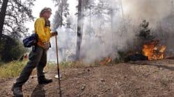 Washington Wildfire Smoke Triggers B.C. Air Quality