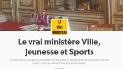 Entre autodérision et autopromo, le ministre de la Jeunesse et des sports lance son