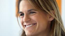 Amélie Mauresmo annonce le nom de son fils avec une