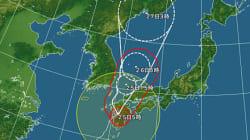台風15号、九州に上陸 今後の進路は?