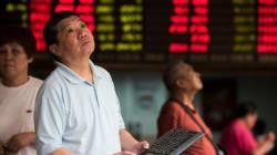 La Bourse de Shanghai dégringole encore de