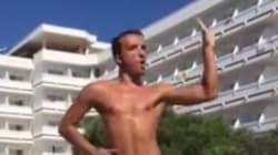 Ce prof d'aquagym adore danser sur du