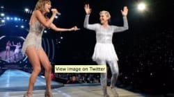 Ellen DeGeneres Outshines Taylor