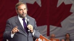 Mulcair 'Not Entertaining Any Thought' Of Running A