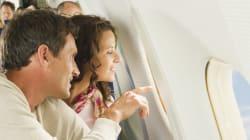 En avion, quel côté offre la plus belle vue à
