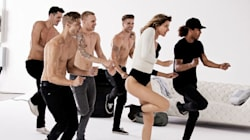 Watch Gisele Bundchen Dance With Hot, Shirtless Guys In New