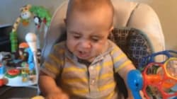 Baby Has Hilarious Reaction To Trying Egg For The First