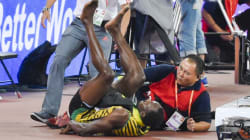 Bolt Mowed Down By Bungling Cameraman After