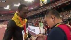 Le caméraman qui a renversé Usain Bolt s'est