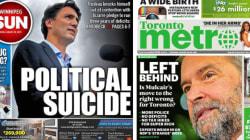 Austérité? Déficits? Trudeau parle de réinvestissement, Mulcair et Harper de «choix
