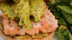 Burgers de saumon et purée