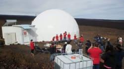 Mission sur Mars: Ils vivront sous un dôme pendant un