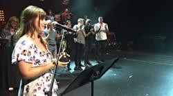 Caroline Savoie remporte le Festival de la chanson de