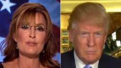 Sarah Palin Endorses Donald Trump For