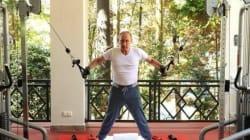 Putin Pumps Iron To Prop Up