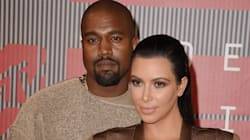 Kim Kardashian And Kanye West Look So In Love At The