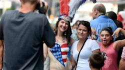 Topless In Times Square: How An Aussie Stripped Off To Prove A