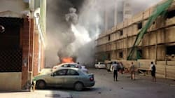 Autobomba a Tripoli davanti alla sede della joint venture