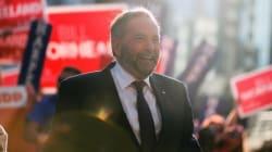 Mulcair promet de l'aide pour Radio-Canada et les