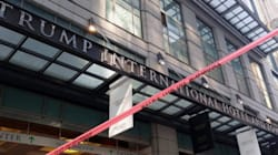 Technical Issues At Toronto's Trump Tower Result In Street
