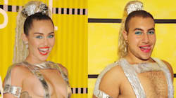 These Miley Cyrus VMA Re-Creations Are
