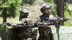 Security Forces And Militants Engage In Gun Battle In