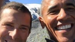 Obama Goes Wild With Bear