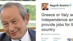 La pazza idea di Sawiris: