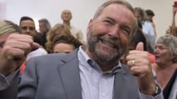 NDP Mocks Trudeau's Escalator