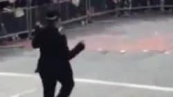 El divertido baile de una policía en el Orgullo Gay de