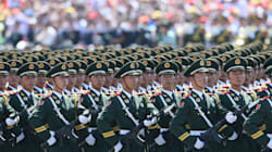 China Flexes Military