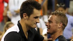 Tomic Sees Off Childhood Hero, Who Taught Him A Thing Or Two About