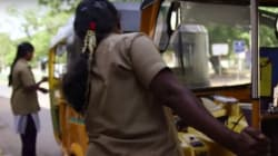WATCH: Chennai's Women Auto-Drivers Take On The Men With