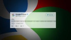 Que signifie le mystérieux message de Google encodé en