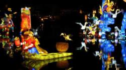 Le retour des soirées Jardins de lumière au Jardin botanique
