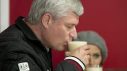 Harper Takes Message To The