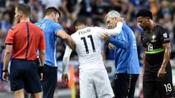 Nabil Fékir grièvement blessé lors de la victoire des Bleus face au