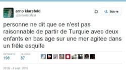 Ce tweet d'Arno Klarsfeld n'en finit pas