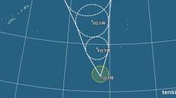 台風18号「アータウ」発生