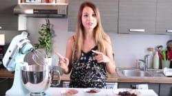 La Youtubeuse star EnjoyPhoenix se lance en cuisine et ça commence (très)