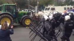 Affrontements à Bruxelles en marge de la manifestation des